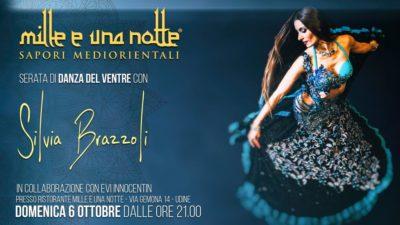 Serata di danza del ventre con Silvia Brazzoli